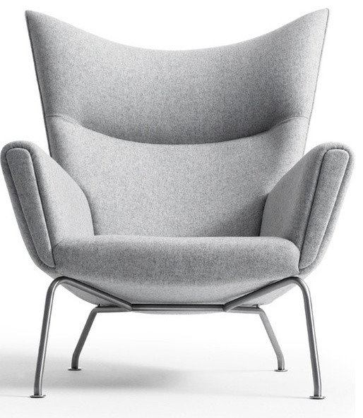 Wonderful CH445 Wing Chair By Hans Wegner Available At Morlen Sinoway Atelier  Midcentury Armchairs And
