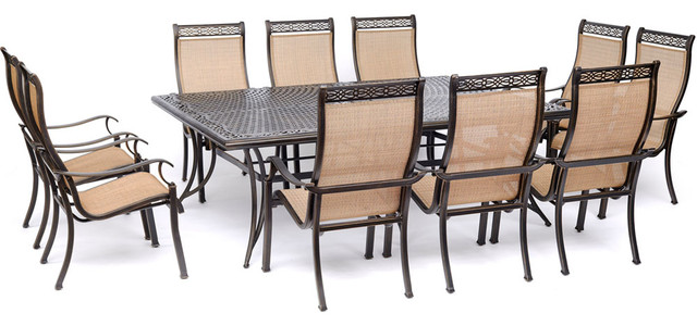Dining Set With Sling Chairs