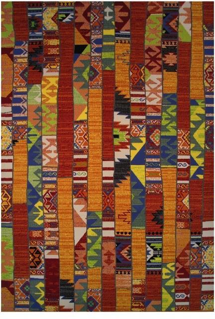 Southwestern/Lodge Botticelli 2u0027x4u0027 Rectangle Multi Color Area Rug  Southwestern Area