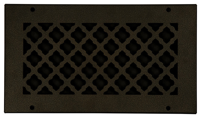 Steel Return Vent Cover, Oil-Rubbed Bronze, Fits Duct Opening 12x6.
