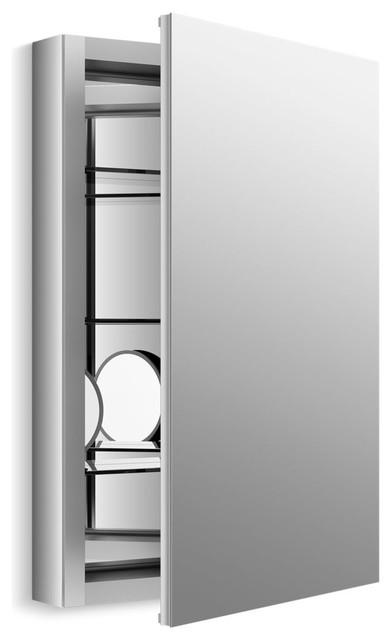 Kohler Verdera Aluminum Medicine Cabinet Flip Out Flat