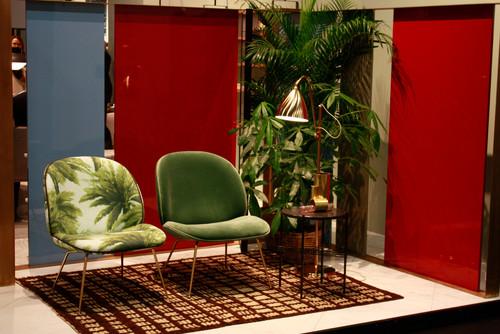 Gubi @ imm cologne 2015, Beetle Lounge Chair