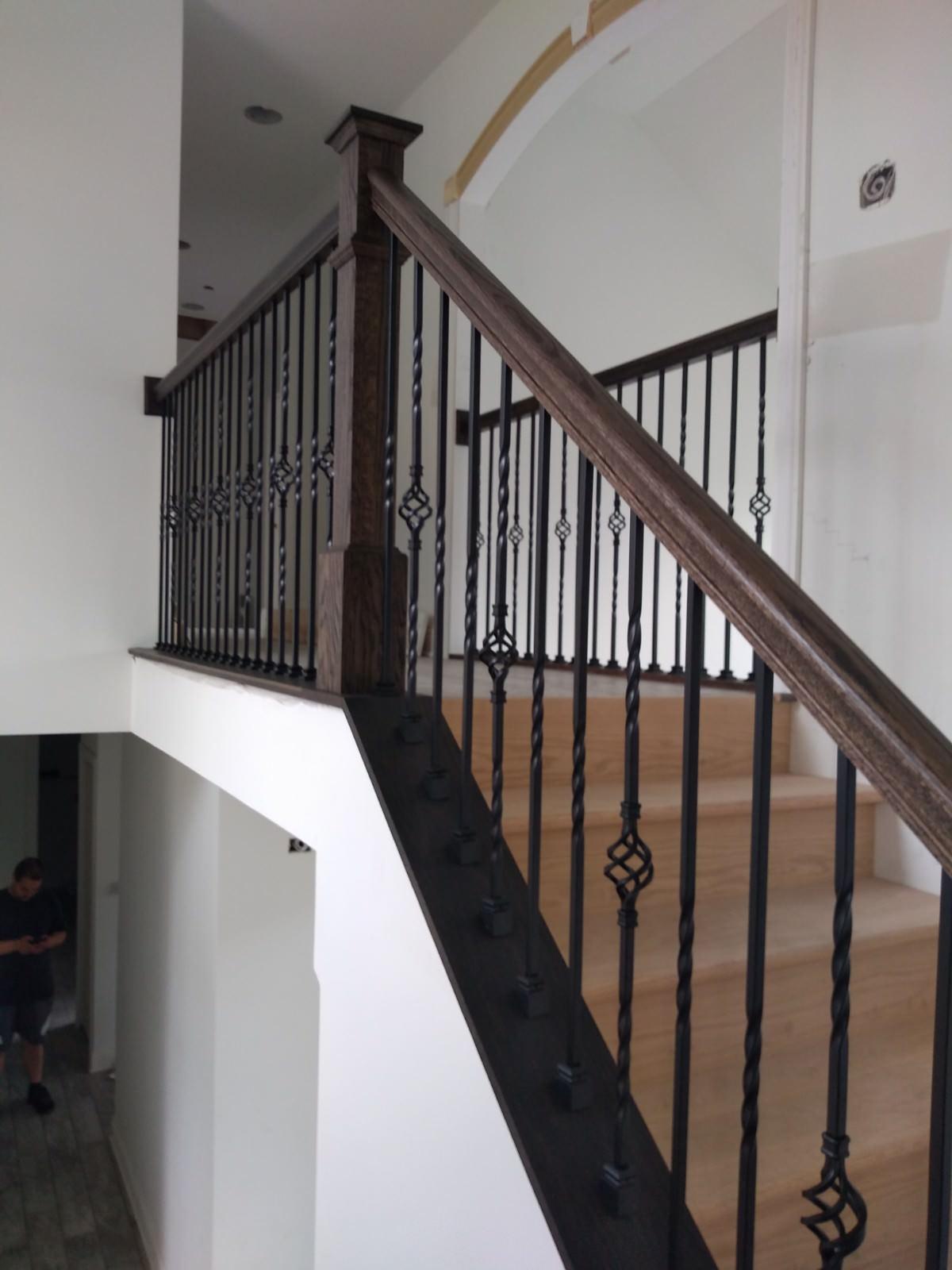New Construction custom railings