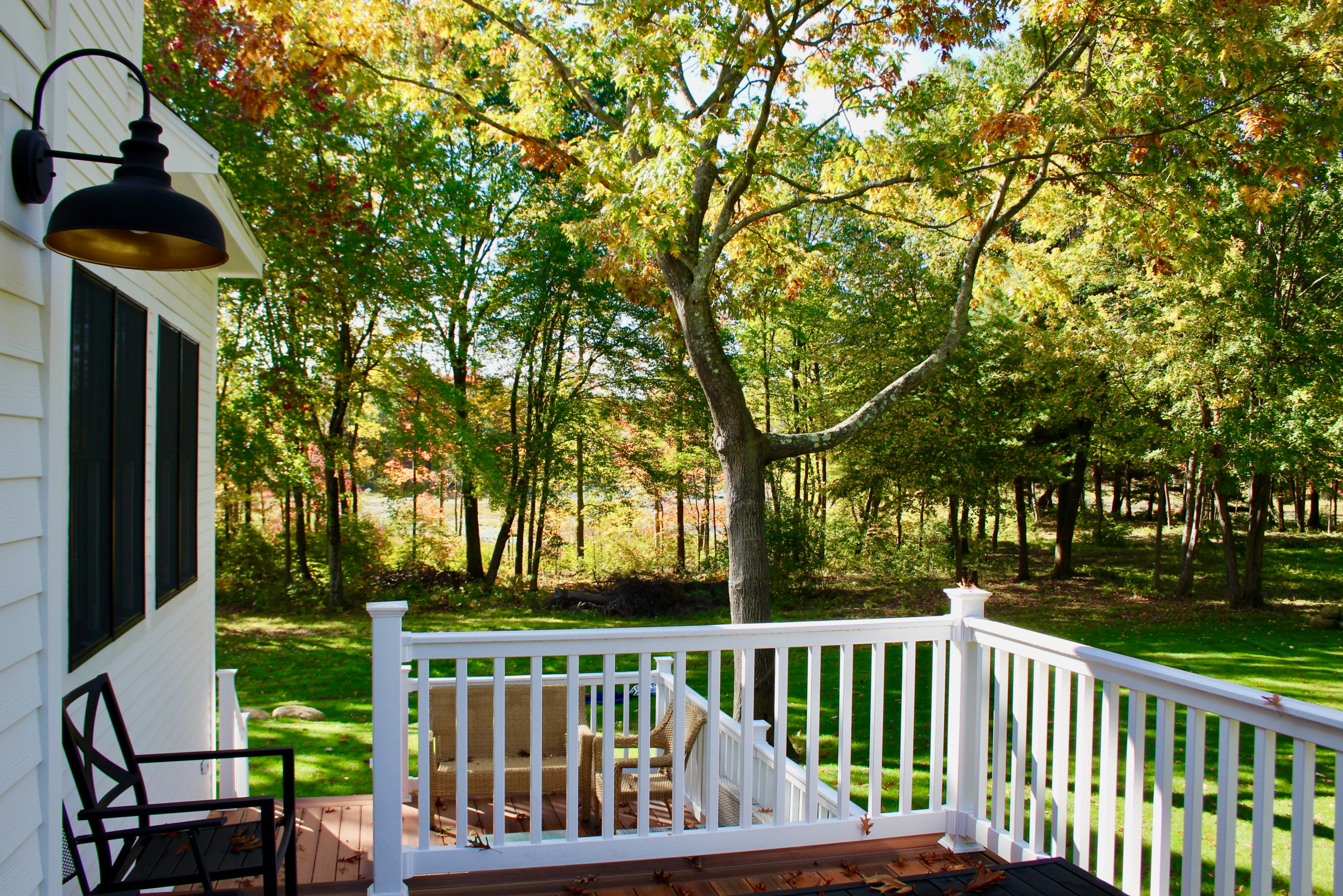 A New England House Sitting