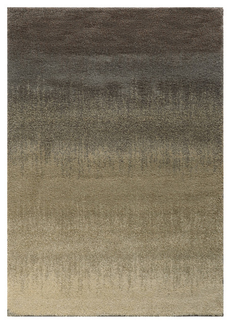 Macy Gradient Rug Gray And Beige Contemporary Area
