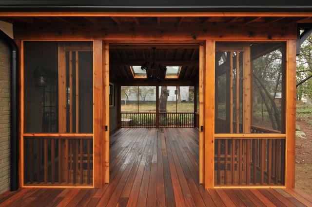 Craftsman Screen Porch Craftsman Atlanta By