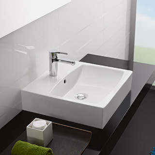Mimo Top Mount Sink Modern Bathroom Sinks This Against A Wall Mirror