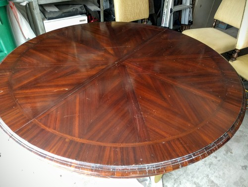 how to fix scratches on mahogany wood