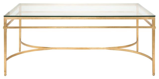 Safavieh Abelard Tail Table Gold