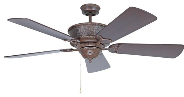 "Craftmade Riata 44"", 56"" 5 Blade Ceiling Fan, Blade Selection Required."