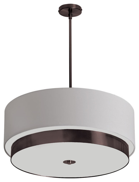 Pendant Larkin Collection, Vintage Oiled Brushed Bronze.