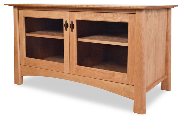 Harvestmoon TV Console - Craftsman - Entertainment Centers And Tv Stands - by Maple Corner Woodworks