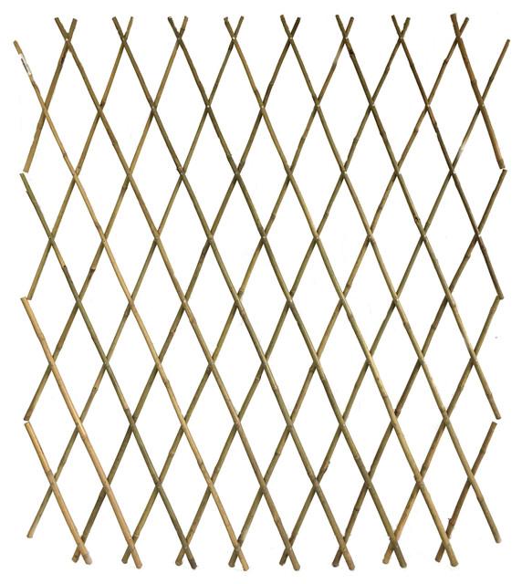 Expandable Bamboo Pole Trellis,72x60.