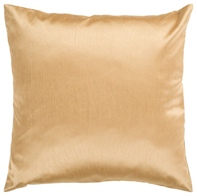 Throw Pillow Kit : Surya Pillow Kit Square Mustard Gold Accent Pillow - Contemporary - Decorative Pillows - by GwG ...