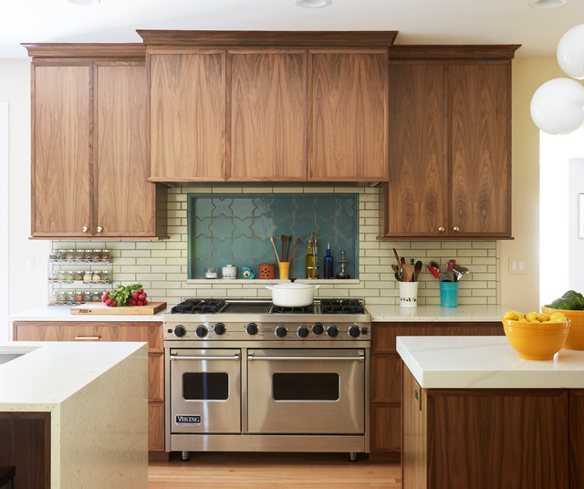 2 Islands Pack Function Into A Long Narrow Kitchen