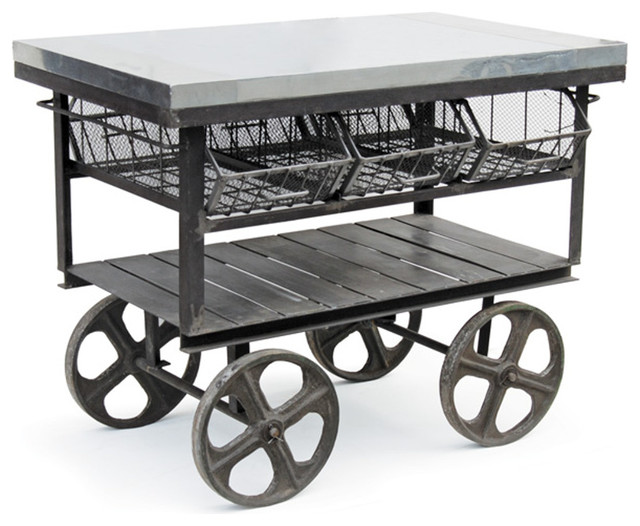 factory station cart 15603 industrial kitchen islands
