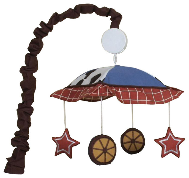 Western Horse Cowboy Musical Mobile Contemporary Baby