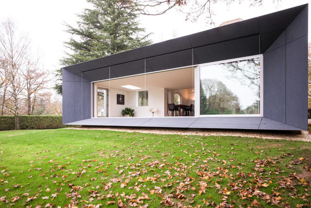le champ de la pierre contemporain nantes par tristan brisard architecte. Black Bedroom Furniture Sets. Home Design Ideas