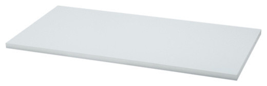 "Freedomrail Wood Shelf 24"" X 14"" - White."