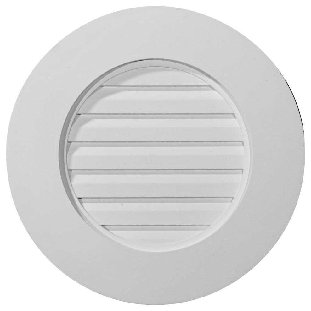 Round Gable Vent Louver Traditional Registers Grilles