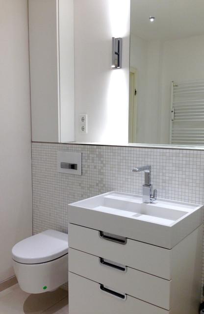 6 Qm BAD Minimalistisch Badezimmer