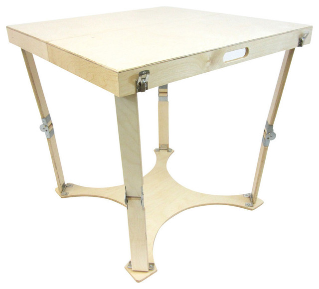 Spiderlegs hand crafted portable wooden folding cafe table for 52 folding table