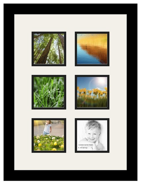 Arttoframes arttoframes collage photo frame with 6 for Modern collage frame
