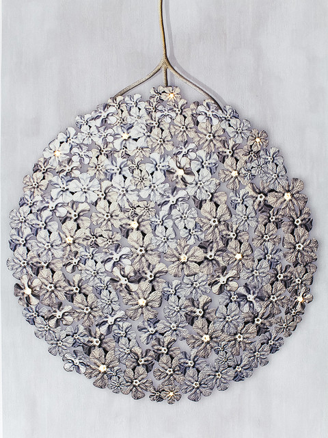 Germanium LED Wallpaper Chandelier