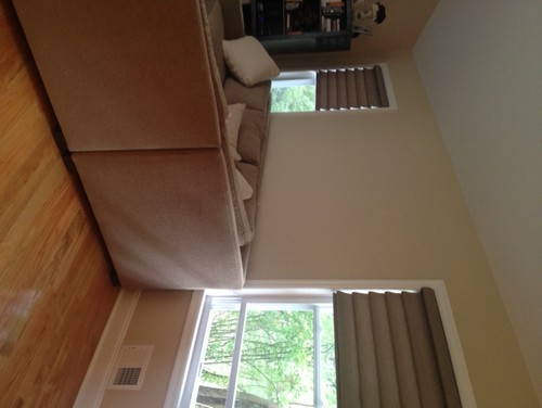 Also Included Two Pictures Showing Our New Roman Shades And The  Thank you for reporting this comment. Undo
