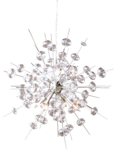 Magnificent modern brushed nickel chandelier ideas fantastic diy brushed nickel chandelier modern home ideas aloadofball Image collections