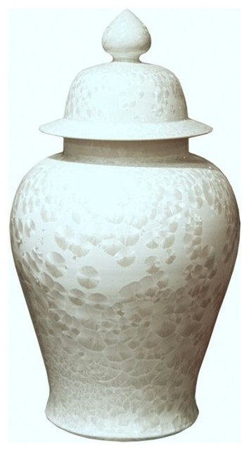 Belle Amp June Crystal Shell Temple Jar Large View In