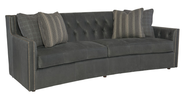 Bernhardt Candace Leather Sofa