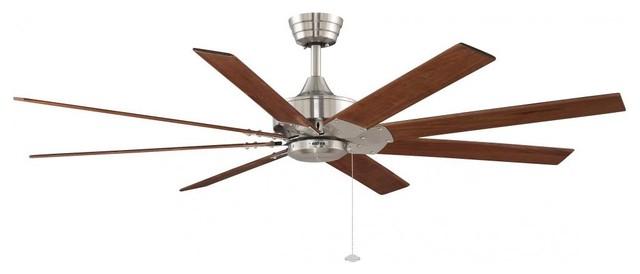 Nickel Ceiling Fan.