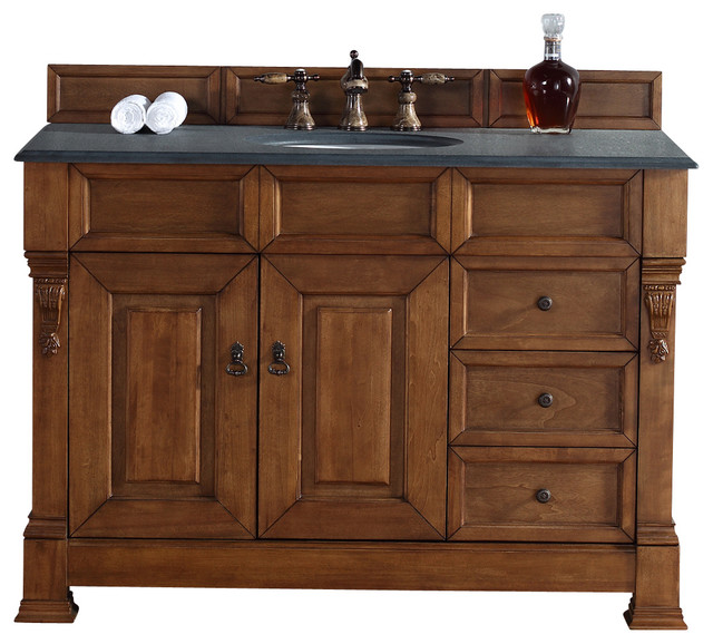 "Brookfield 48"" Country Oak Single Vanity W/ Drawers"