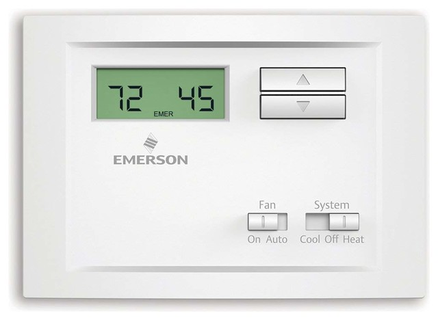 Emerson Non-Programmable Single Stage Thermostat