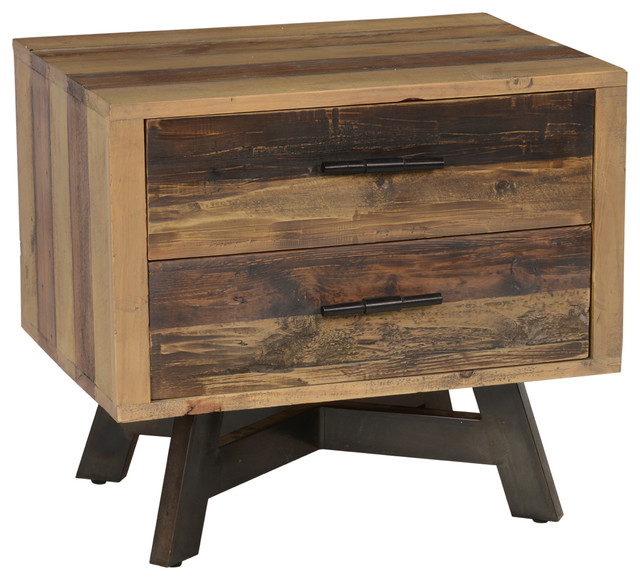 kosas home kosas home holden2 drawer nightstant nightstands and bedside tables
