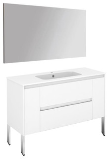 kitchen cabinets holders ambra 120f pack 1 gloss white bathroom vanity with mirror 20508