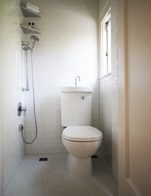 Minimalist bathroom photo in Portland