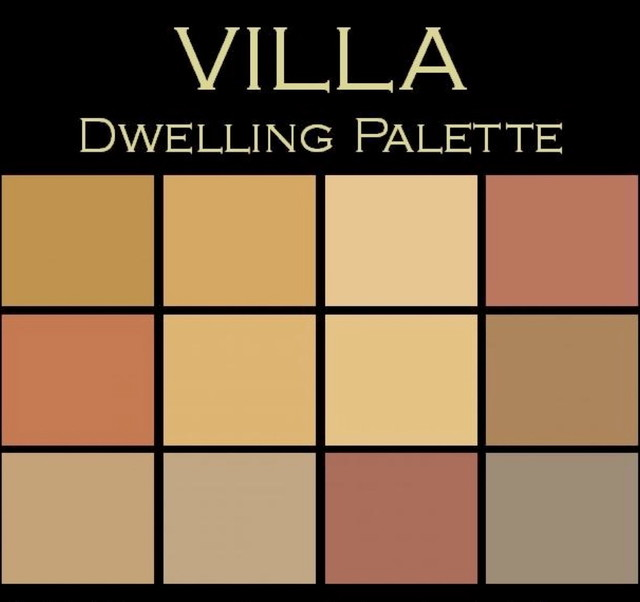 Color In E Villa Palette Rich Earthy