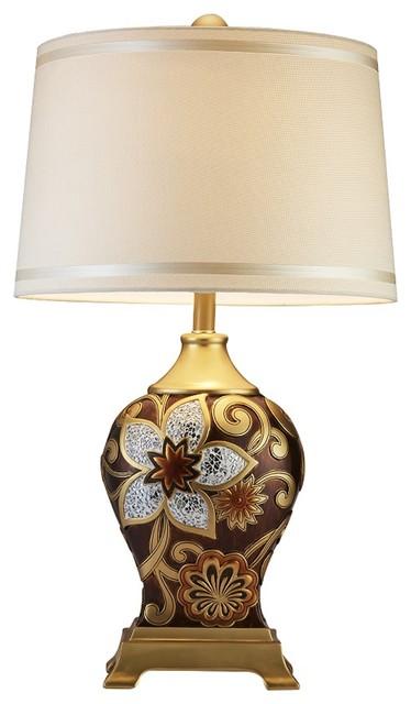 29 5 Quot H Azalea Table Lamp Mediterranean Table Lamps