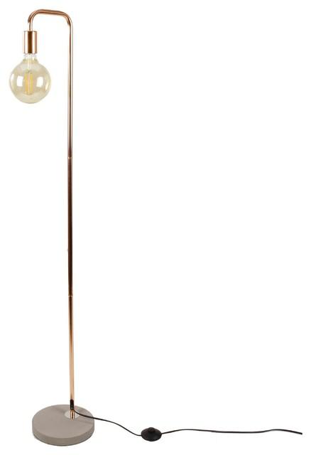 edet floor lamp copper