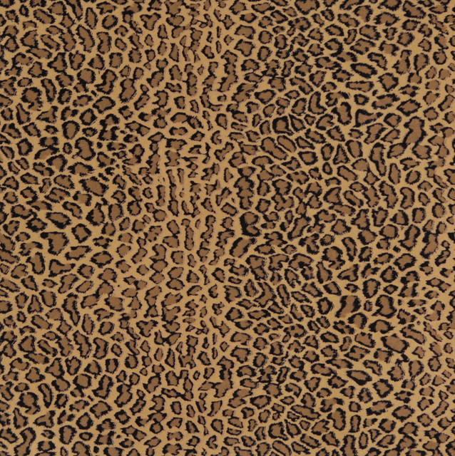 E418 Cheetah Animal Print Microfiber Fabric