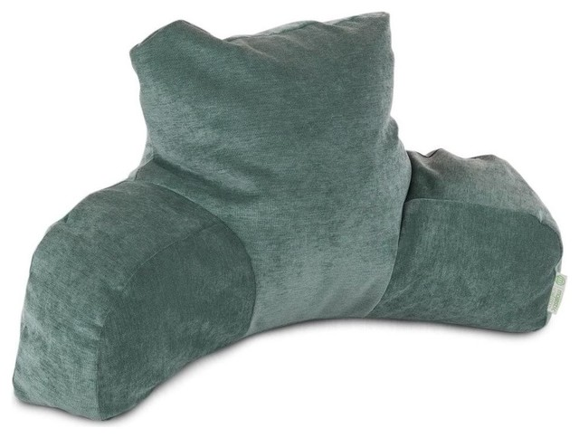 Decorative Reading Pillow : Indoor Faux Suede Reading Pillow - Transitional - Decorative Pillows - by Majestic Home Goods, Inc.
