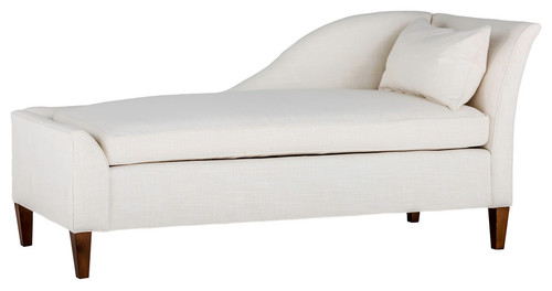 Gabby Shannon Left Arm Facing Chaise Lounge, Gray Zulu Feather