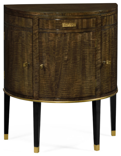 Coffee Bean Eucalyptus Commode Table