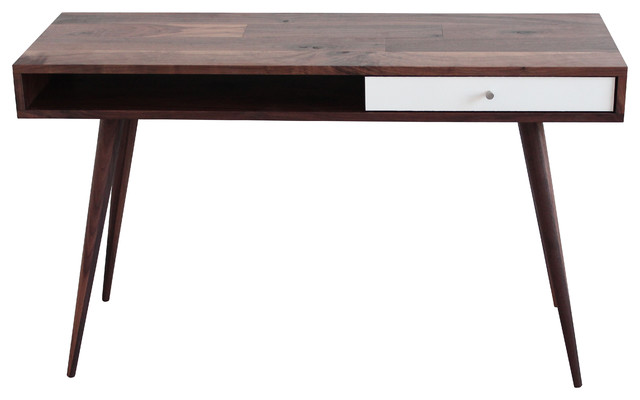 mid century modern laptop desk - midcentury - desks and hutches