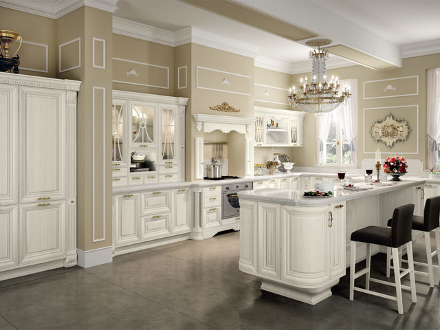 classic kitchen cabinets - Traditional - Kitchen Cabinetry - Los ...