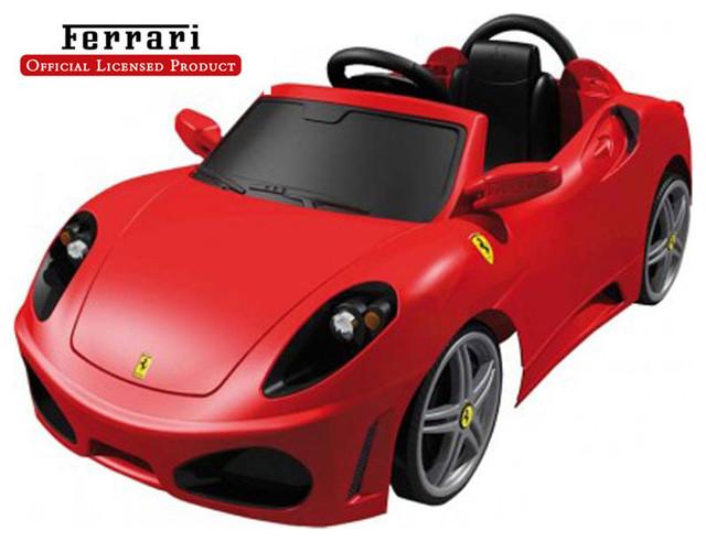 feber kids play vehicles ferrari f430 6v car modern kids toys and