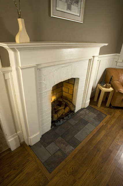 Eastwood Slate Fireplace Hearth Traditional Family