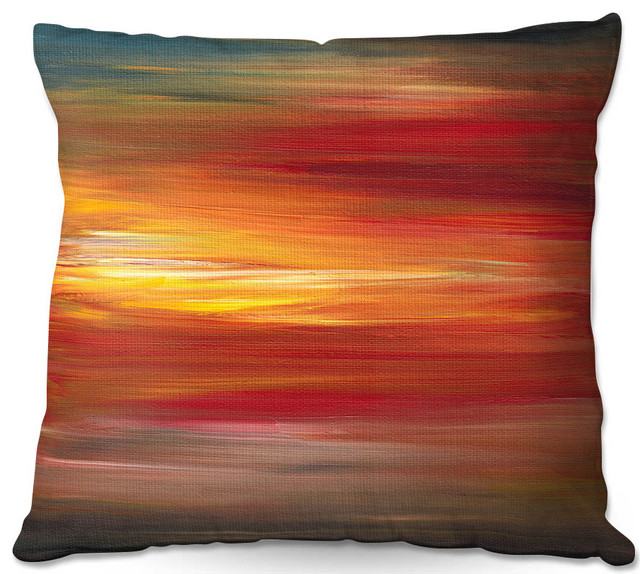 Dianoche Throw Pillows By Julia Di Sano Color Intoxication L.